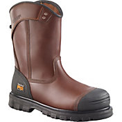 Timberland PRO Men's Caprock 8'' Pull-On Alloy Toe Work Boots