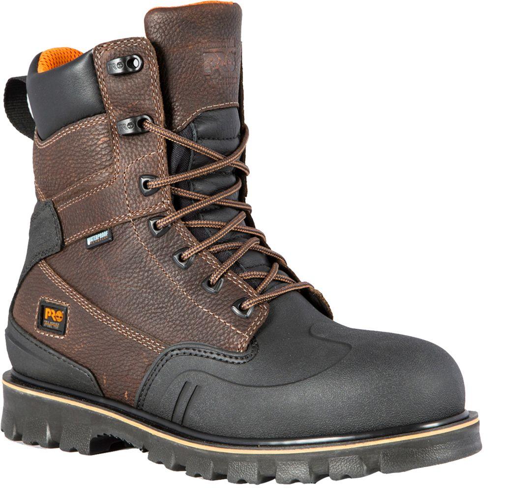 "Timberland PRO Men's Rigmaster XT 8"" Waterproof Steel Toe Work Boots"