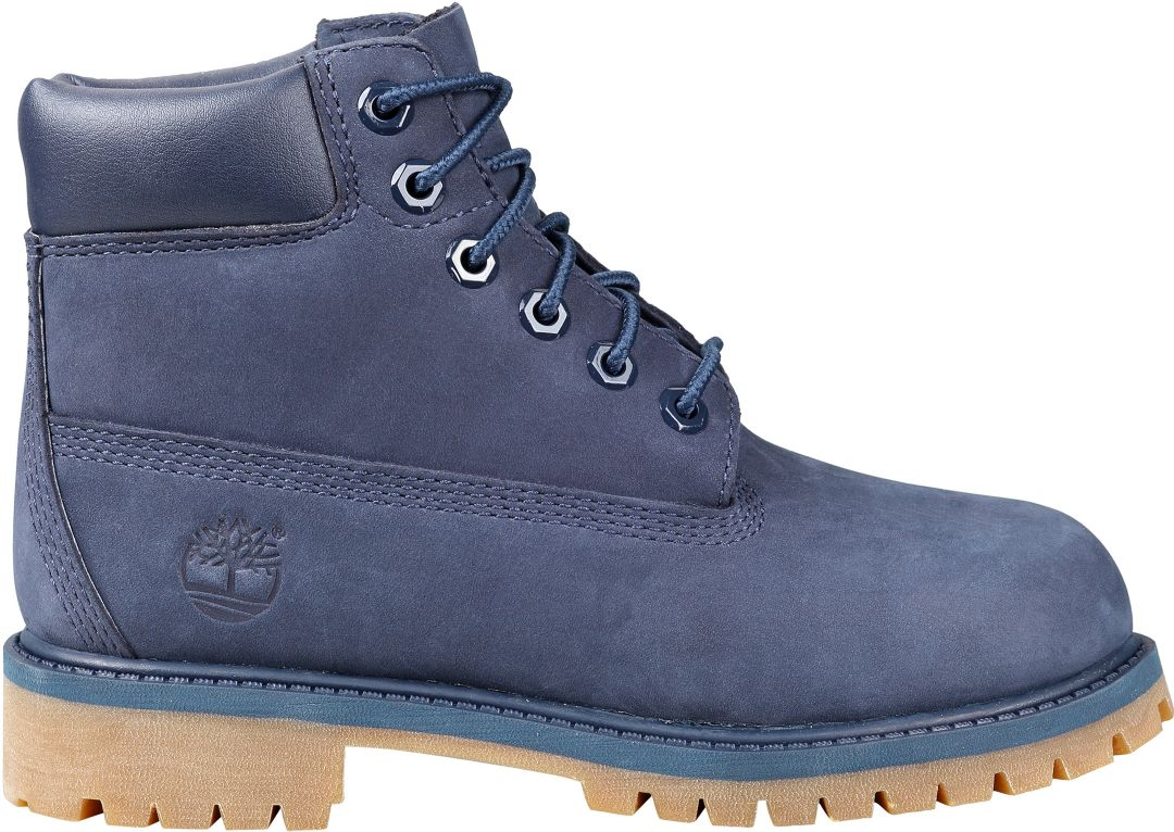 Timberland Premium Nubuck Waterproof Leather Boys Boots All