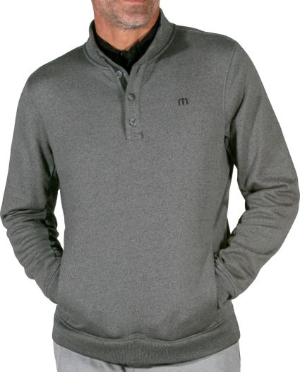 TravisMathew Men's Wall Pullover