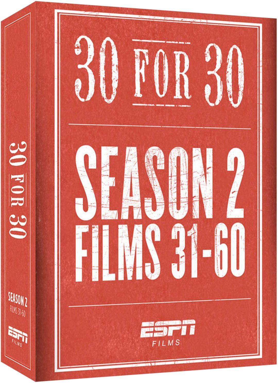 ESPN Films 30 for 30: Complete Season 2 DVD Set