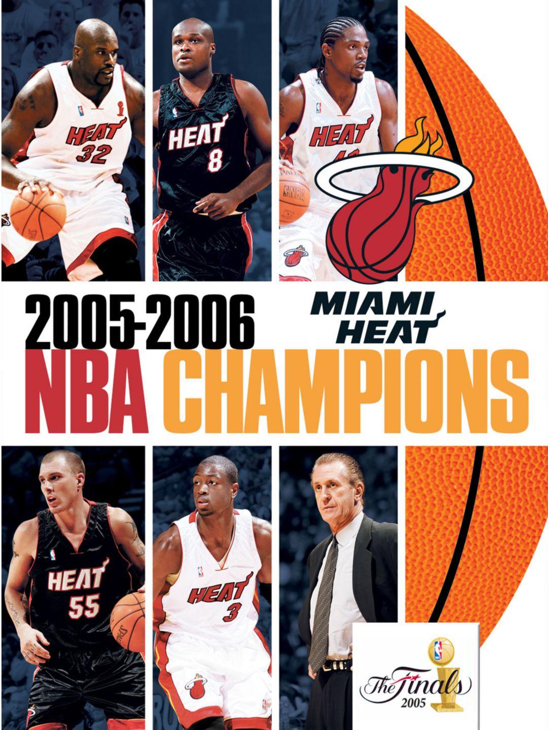 release date dcd59 6b8aa NBA Champions 2006: Miami Heat DVD