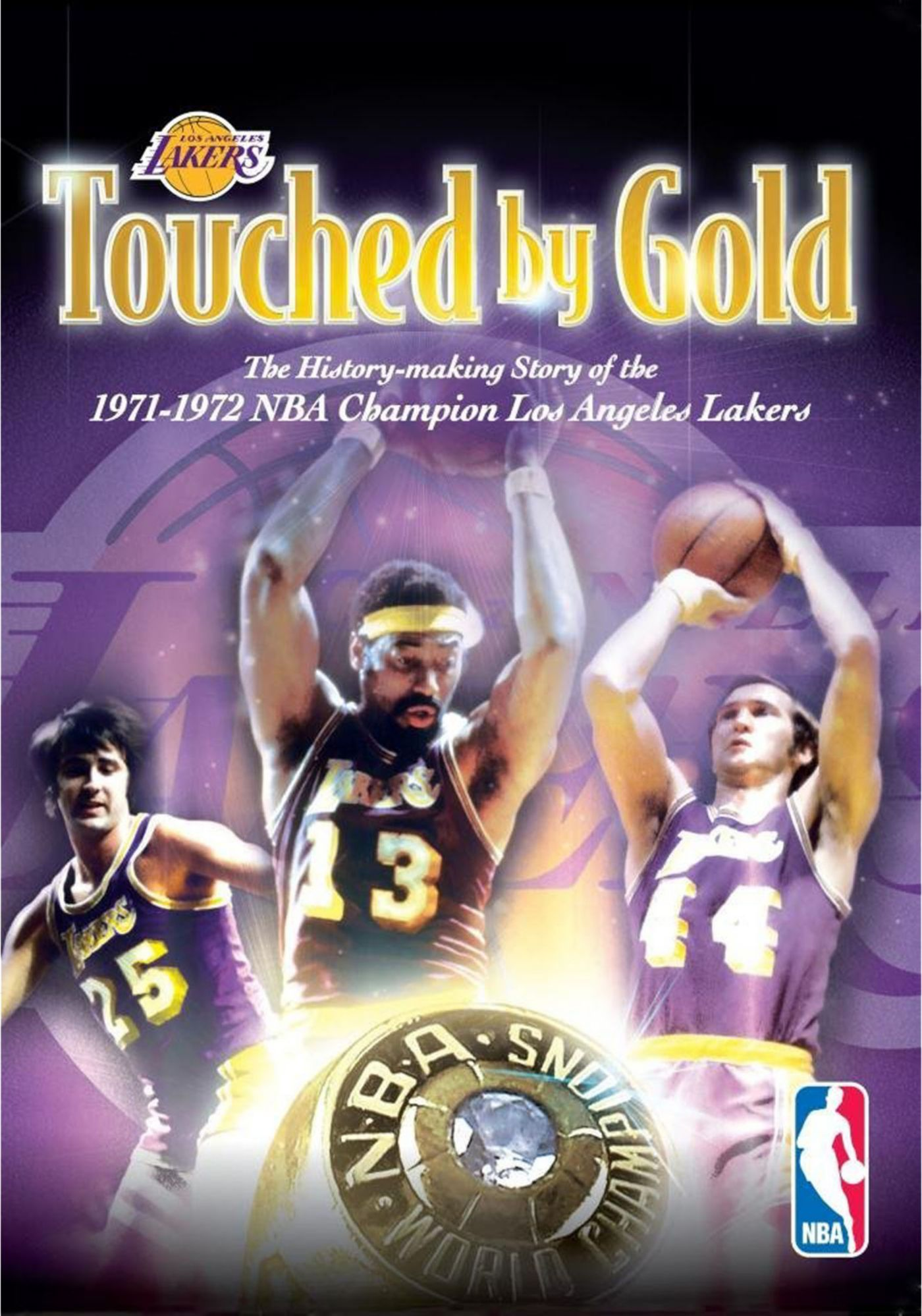 Touched by Gold: the History-making Story of the 1971-1972 NBA Champion Los Angeles Lakers DVD