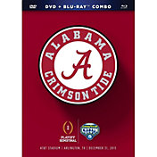 2016 Goodyear Cotton Bowl Game - Alabama vs. Michigan State DVD and Blu-ray Combo