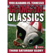 Crimson Classics: 1990 Alabama vs. Tennessee DVD