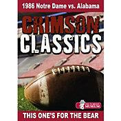 Crimson Classics: 1986 Alabama vs. Notre Dame DVD