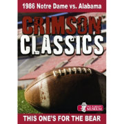 Crimson Classics: 1986 Alabama vs. Notre Dame DVD