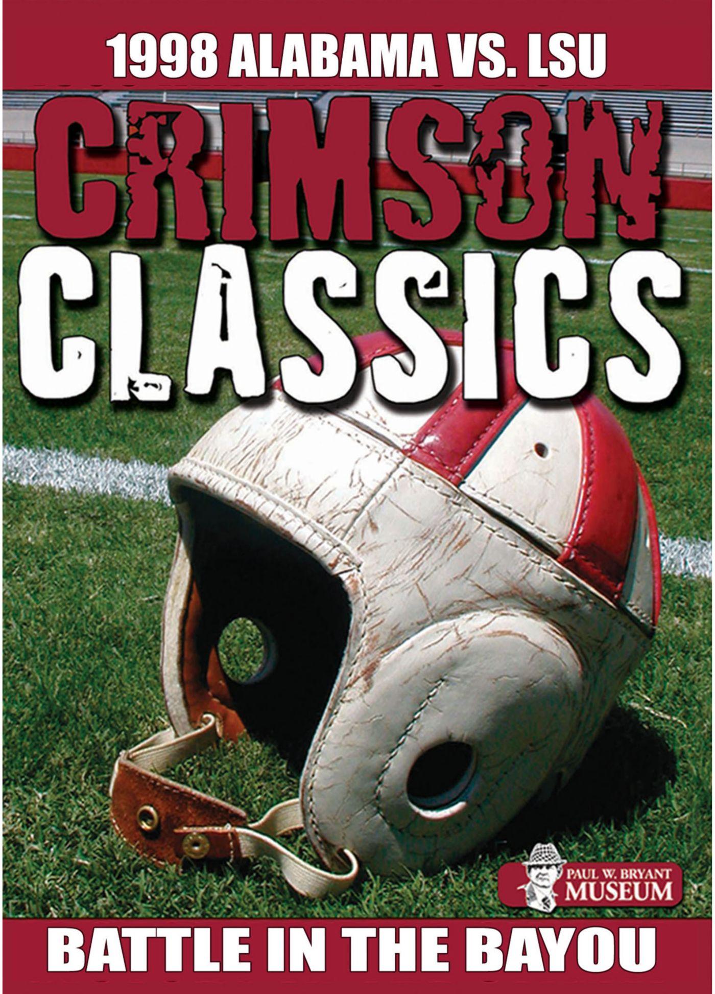 Crimson Classics: 1998 Alabama vs. LSU DVD