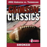 Crimson Classics: 2002 Alabama vs. Tennessee DVD