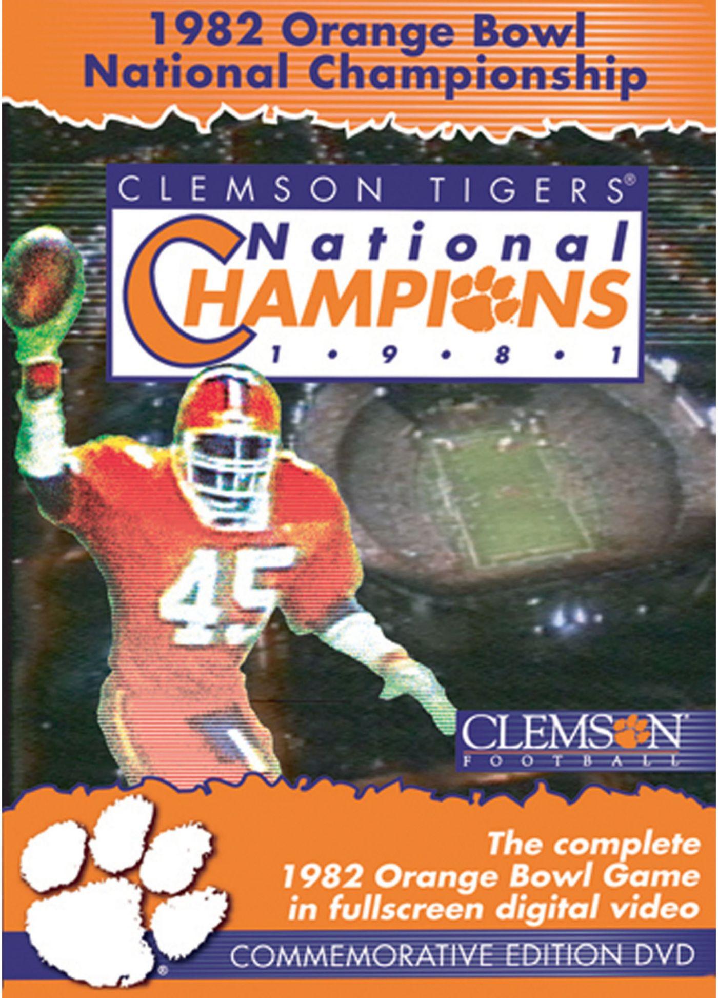 1982 FedEx Orange Bowl National Championship Game DVD