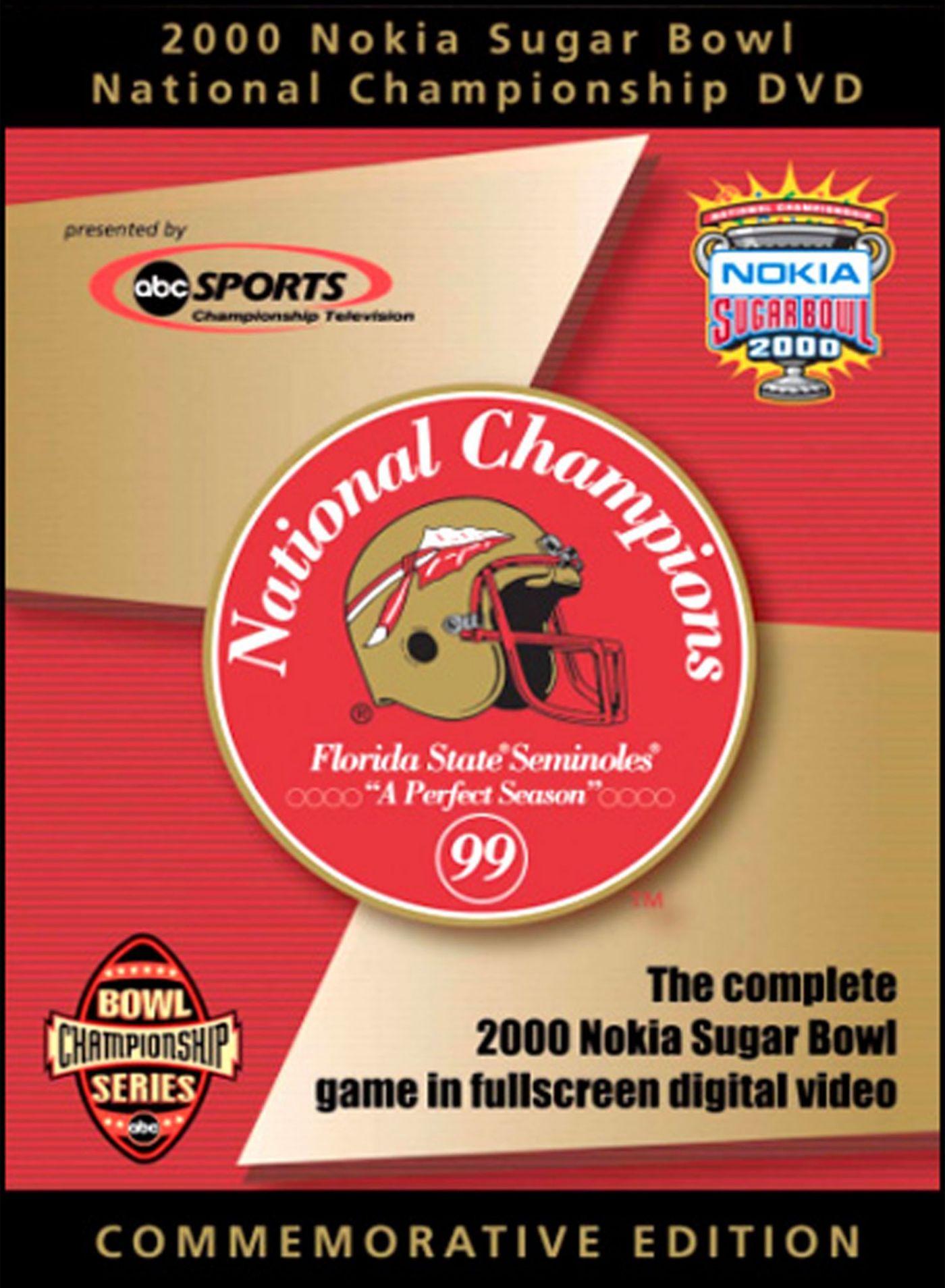 2000 Nokia Sugar Bowl Game: Florida State Seminoles vs. Virginia Tech Hokies DVD