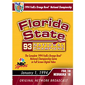 1994 FedEx Orange Bowl National Championship Game DVD