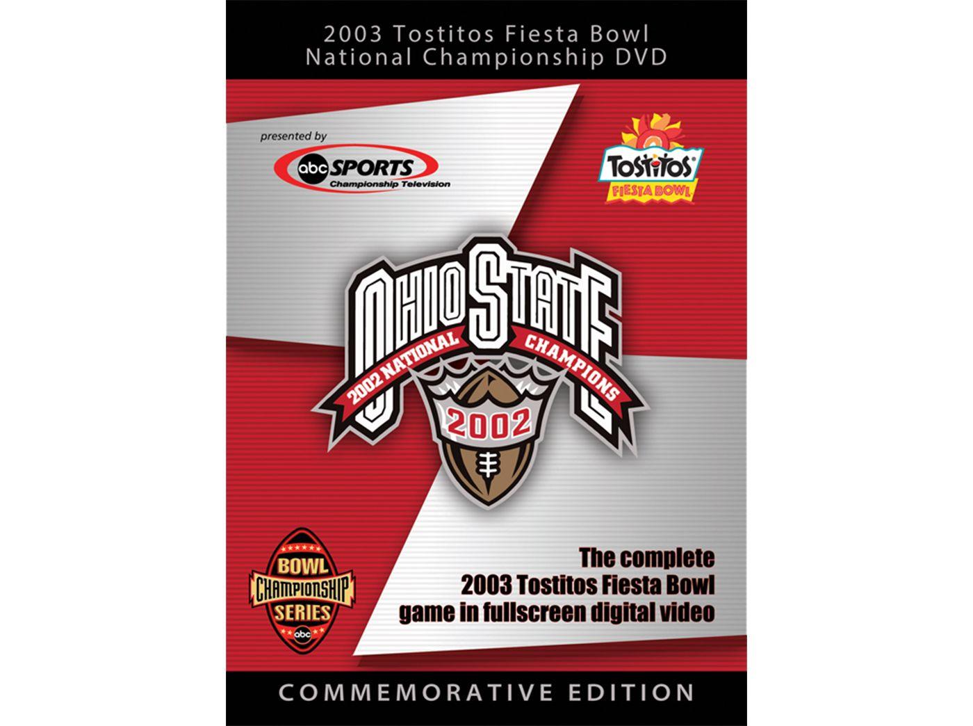 2003 Tostitos Fiesta Bowl Game: Ohio State Buckeyes vs. Miami Hurricanes DVD
