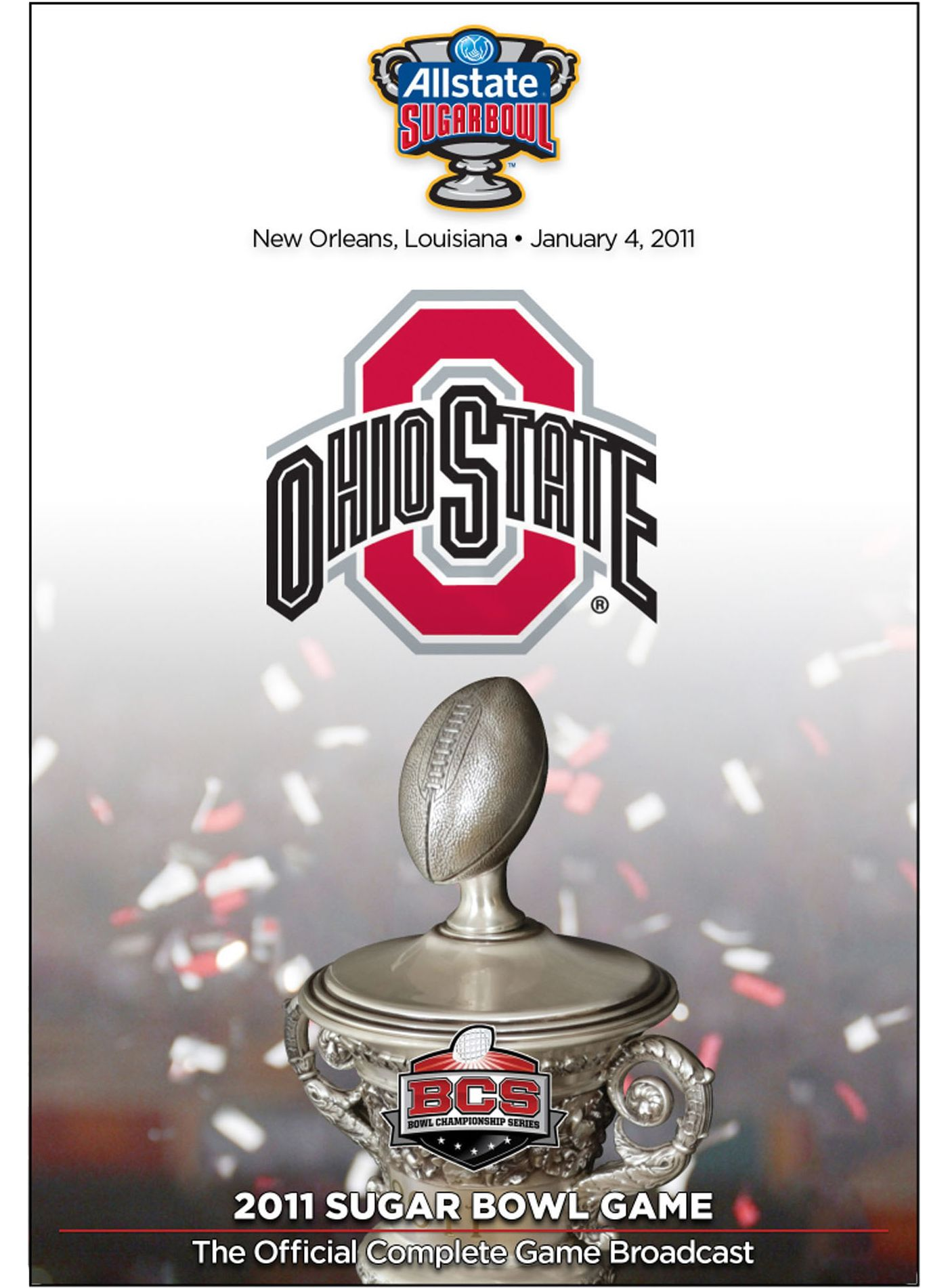 2011 Allstate Sugar Bowl Game - Ohio State vs. Arkansas DVD