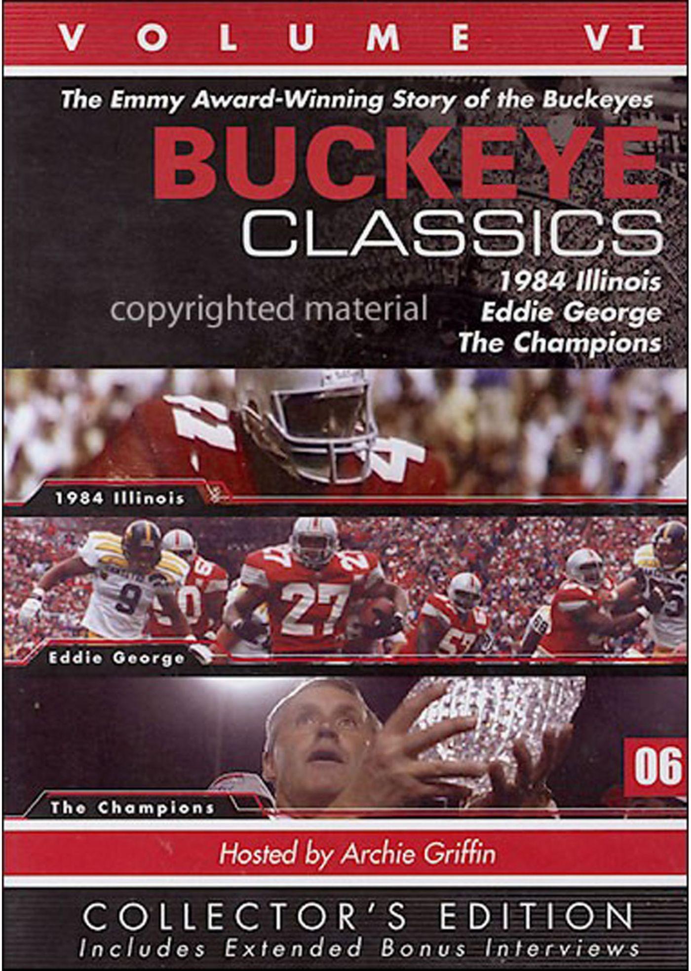 Buckeye Classics, Vol. 6 DVD
