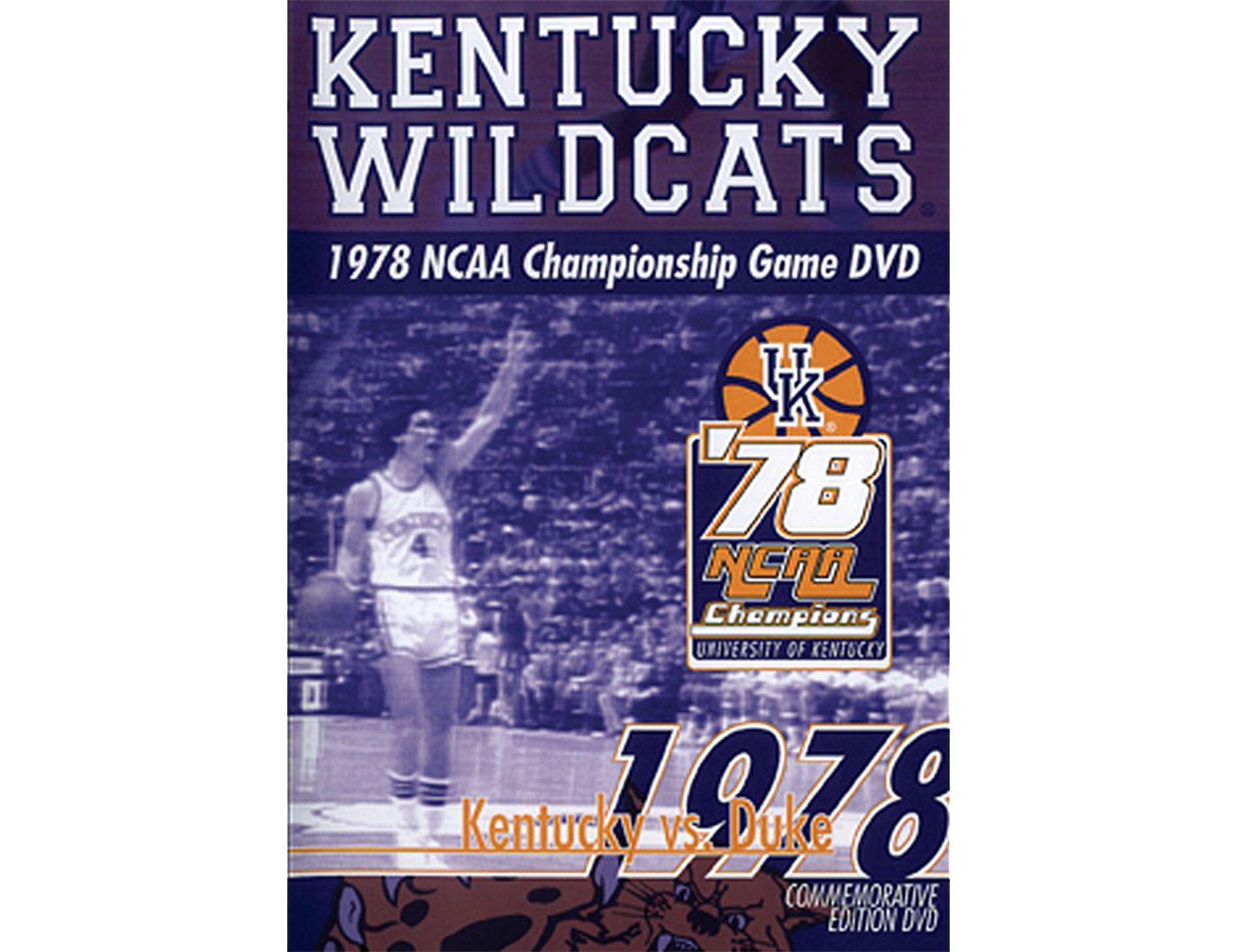 1978 NCAA Men's Basketball National Championship Game: Kentucky Wildcats vs. Duke Blue Devils