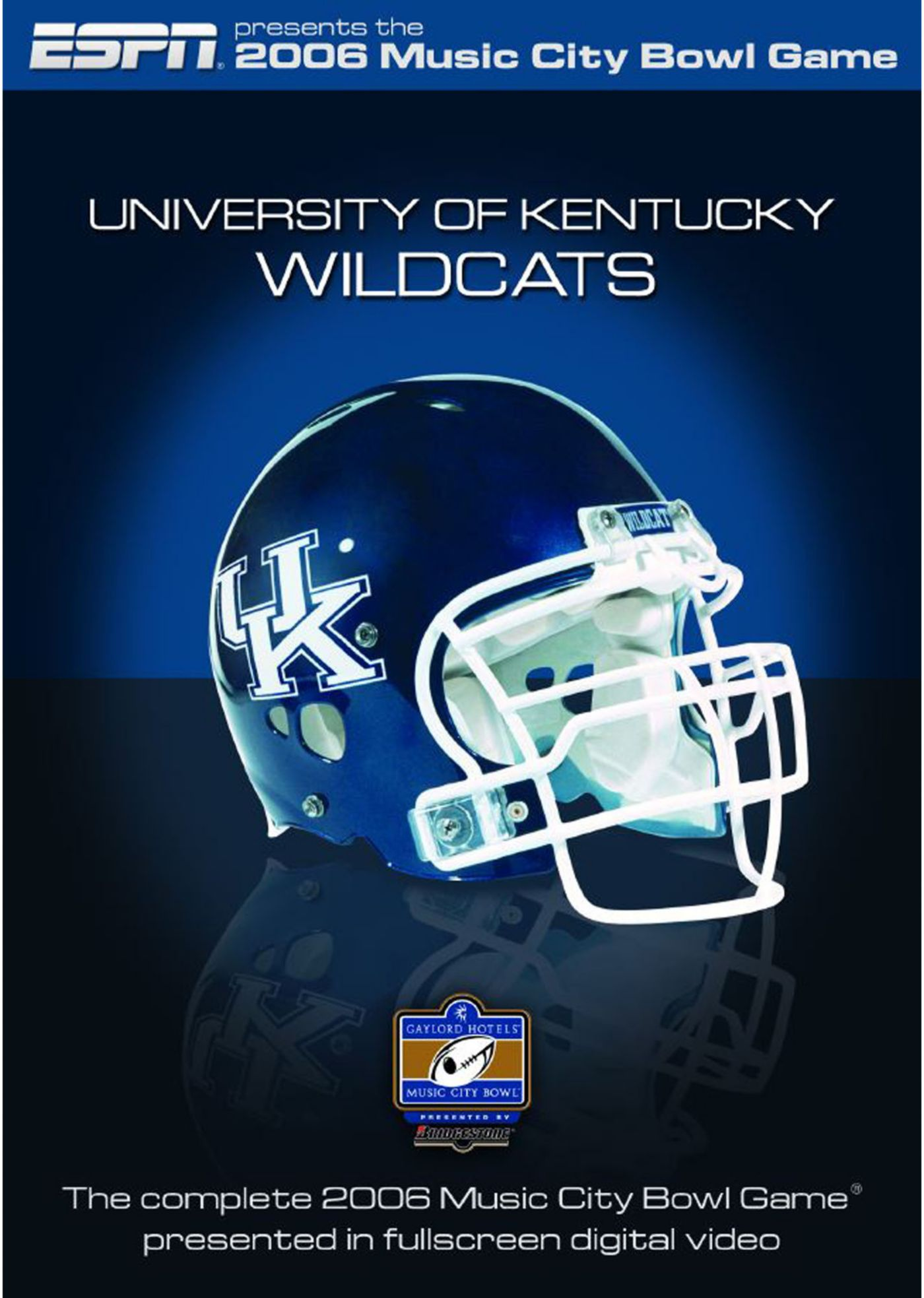 2006 Gaylord Hotels Music City Bowl Game DVD