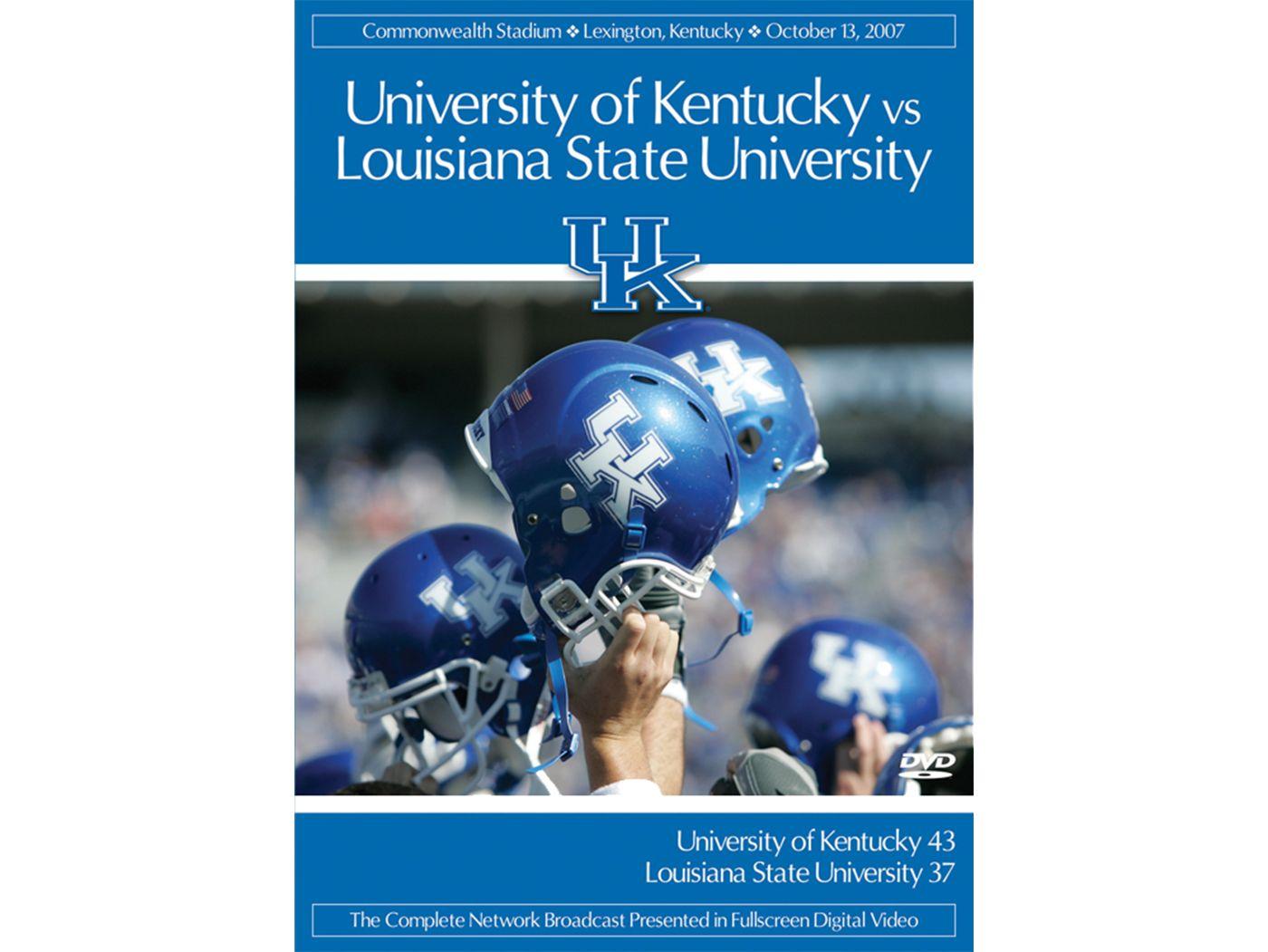 2007 Kentucky vs. LSU Game DVD