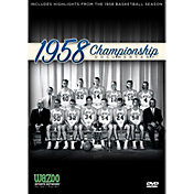 1958 NCAA Men's Basketball Championship - Kentucky vs. Seattle Game DVD