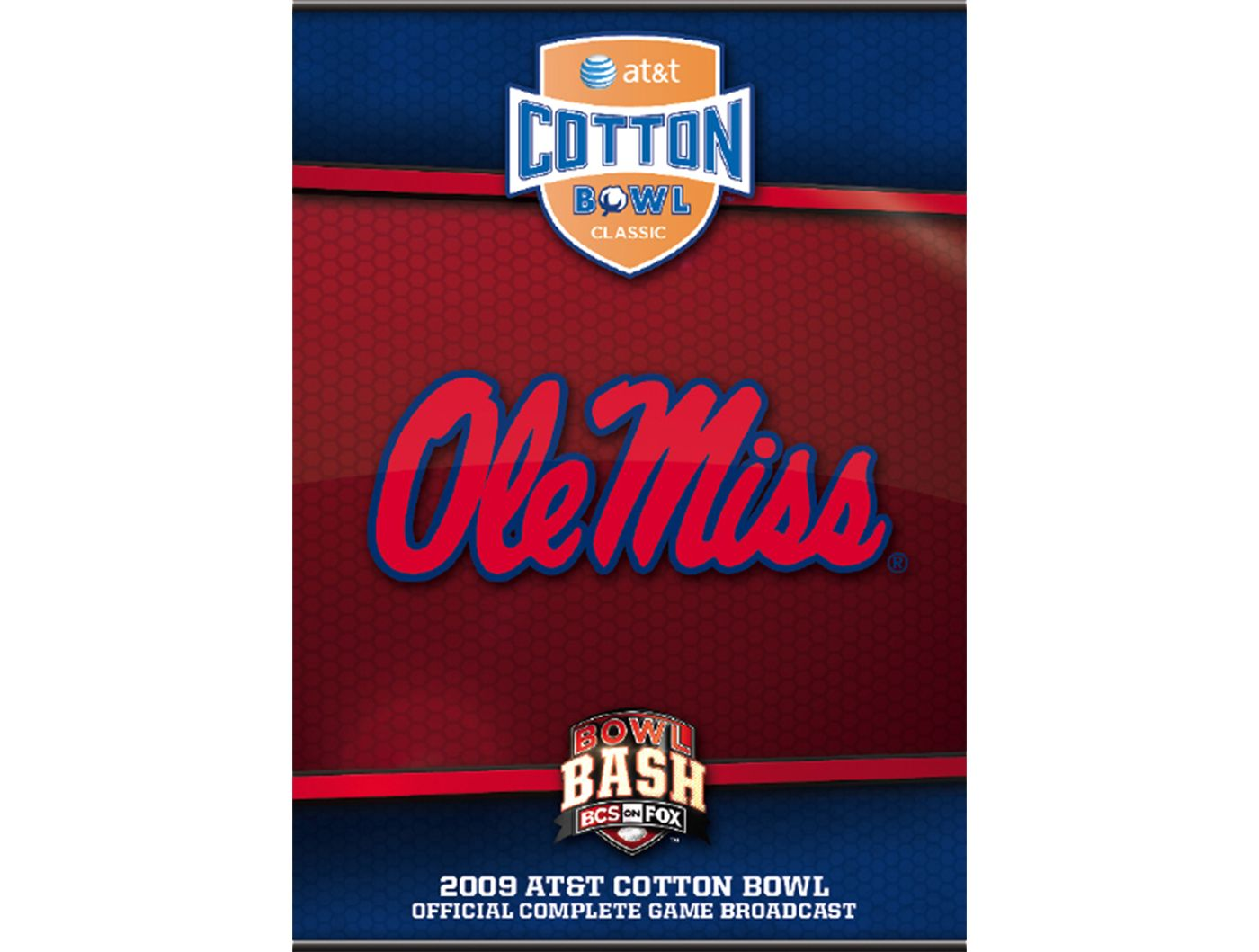 2009 AT&T Cotton Bowl Classic DVD