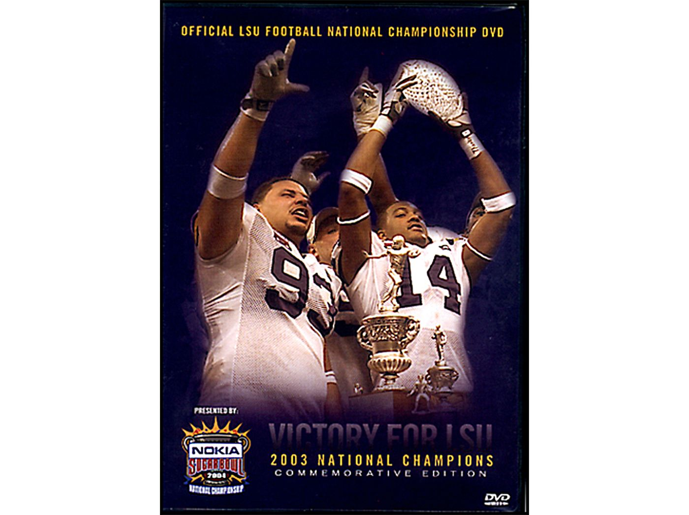 2003 LSU National Championship Highlights DVD