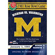 1981 Rose Bowl Game DVD