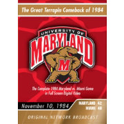 1984 Maryland vs. Miami Game DVD