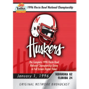 1996 Tostitos Fiesta Bowl Game National Championship Game DVD