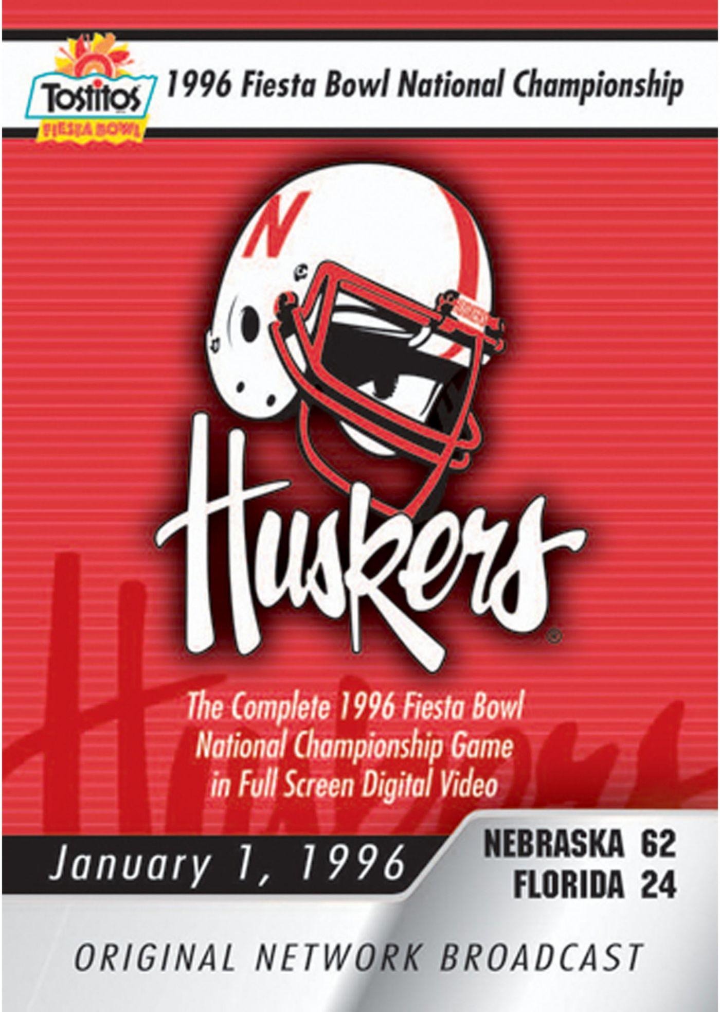 1996 Tostitos Fiesta Bowl Game National Championship Game DVD