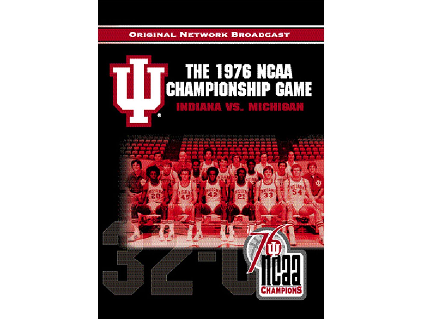 1976 NCAA Men's Basketball National Championship Game DVD