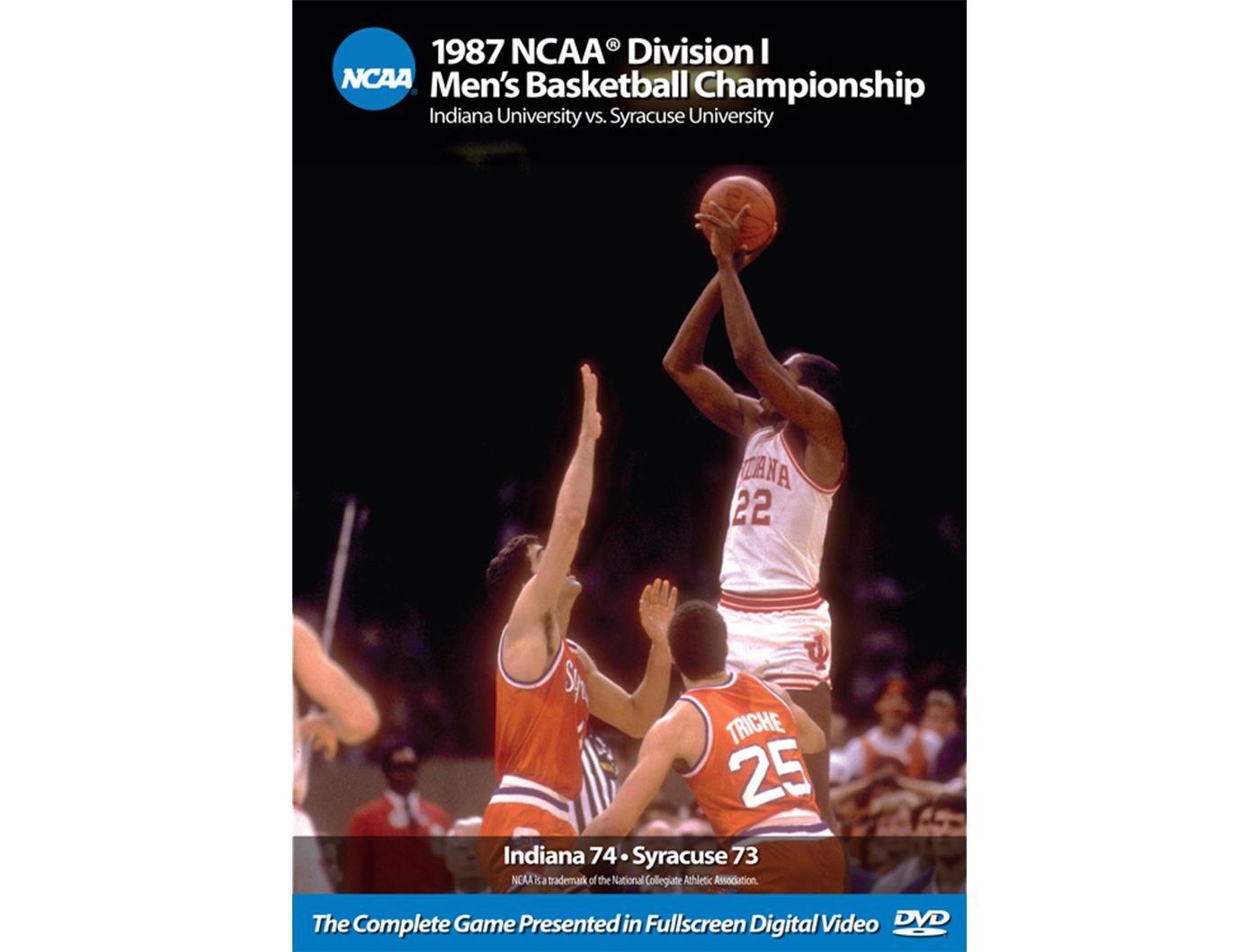 1987 NCAA Men's Basketball Championship Game - Indiana vs. Syracuse DVD