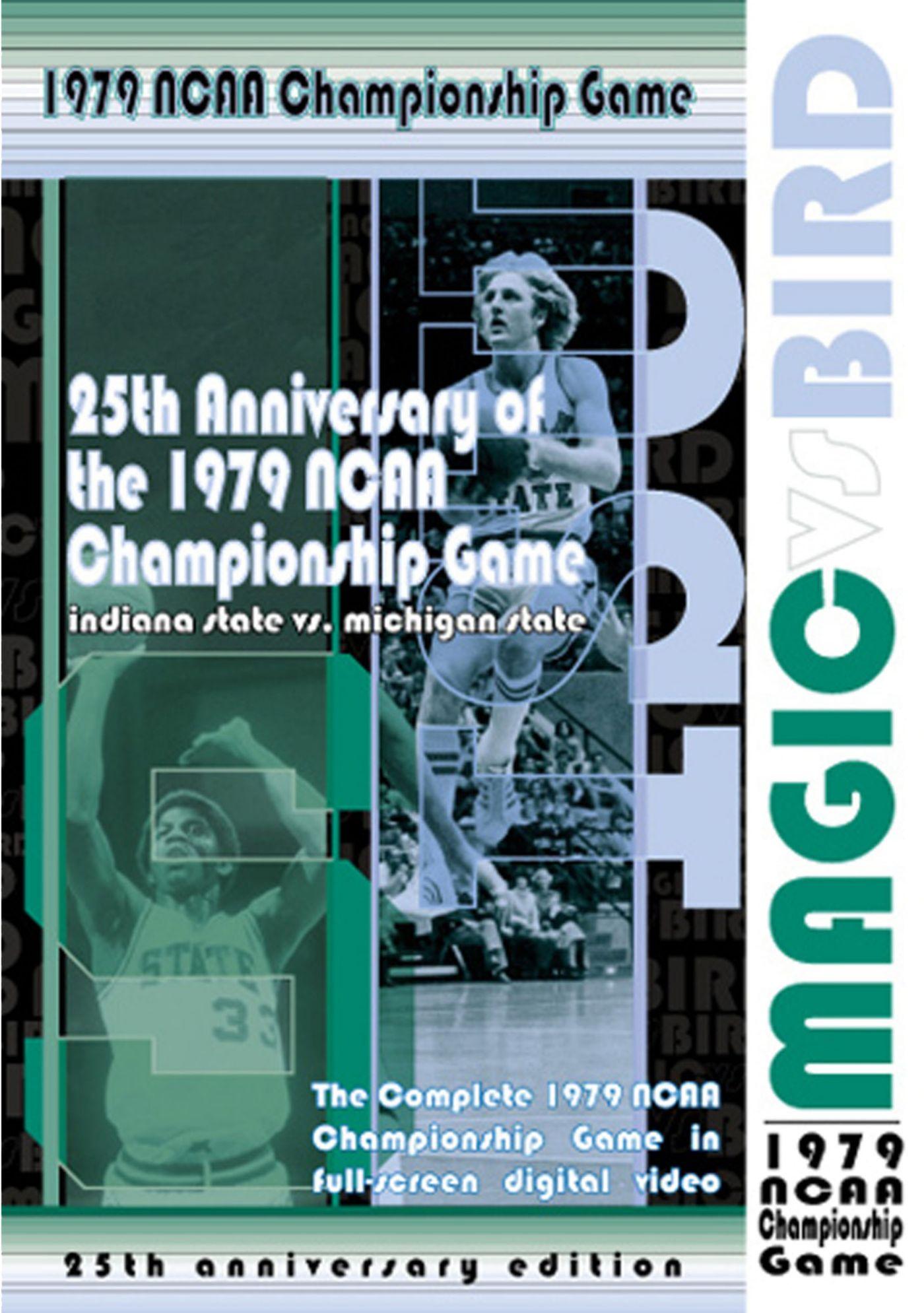 1979 Indiana State vs Michigan State - Magic vs. Bird DVD