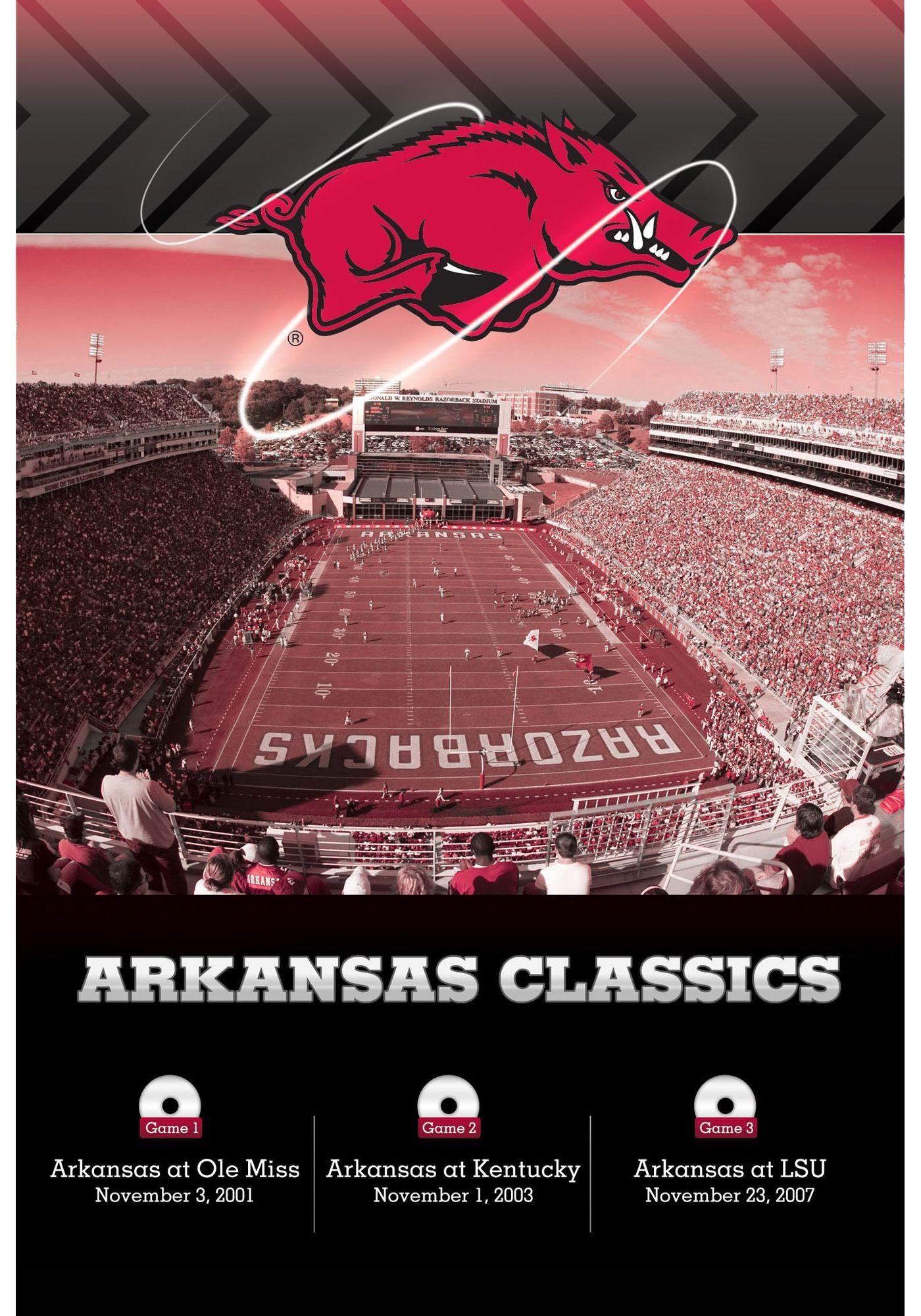 Arkansas Razorbacks Classics 3-DVD Set