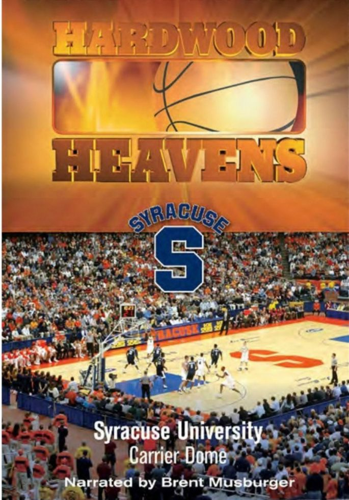 Hardwood Heavens Syracuse University Carrier Dome Dvd