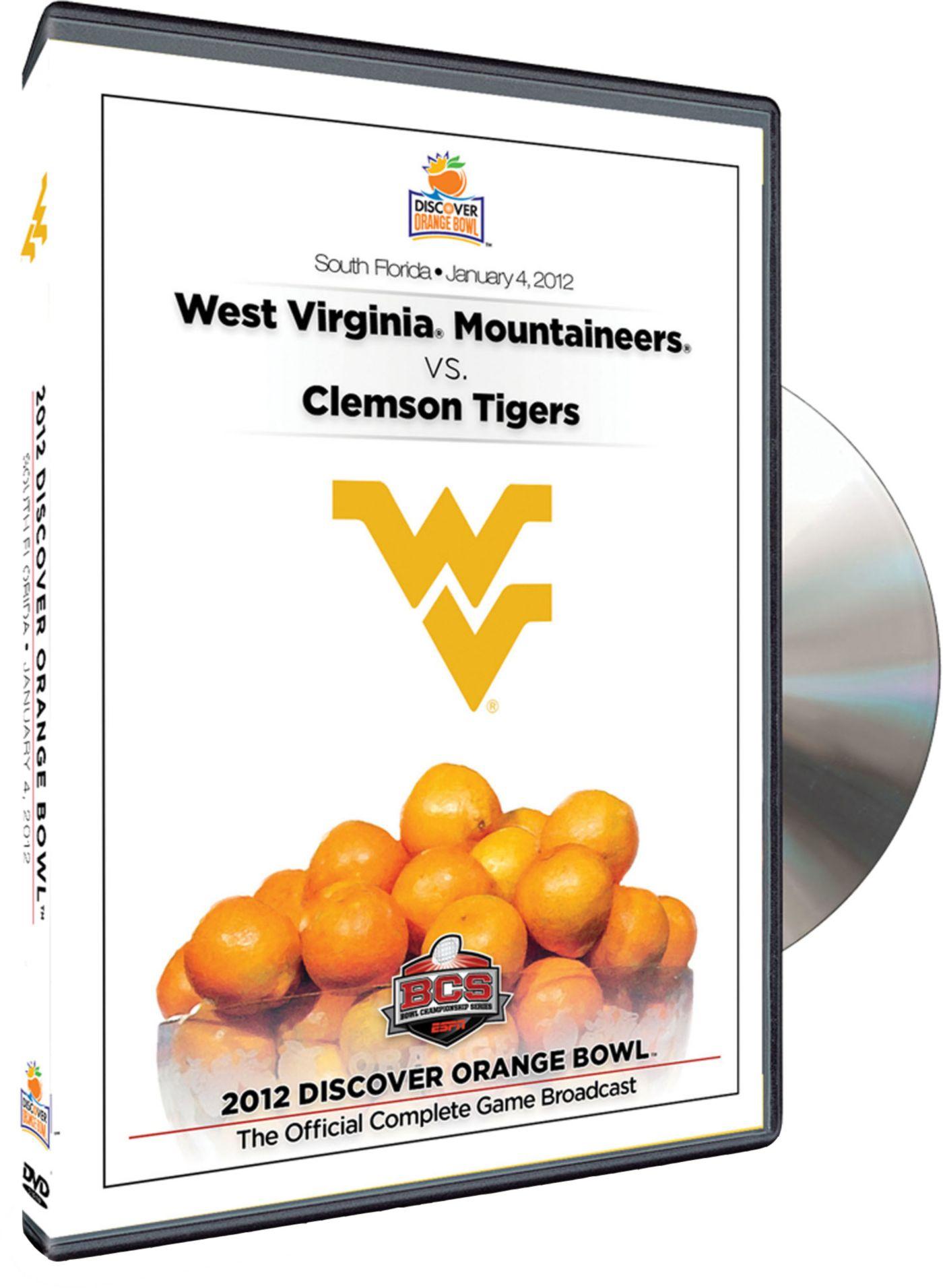 2012 Discover Orange Bowl Game - WVU vs. Clemson DVD