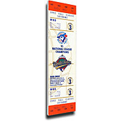 That's My Ticket Toronto Blue Jays 1992 World Series Canvas Mega Ticket