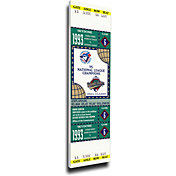 That's My Ticket Toronto Blue Jays 1993 World Series Canvas Mega Ticket
