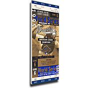 That's My Ticket Braves 1995 World Series Canvas Mega Ticket