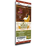 That's My Ticket St. Louis Cardinals 2011 World Series Canvas Mega Ticket