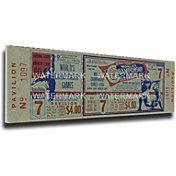 That's My Ticket St. Louis Cardinals 1964 World Series Canvas Mega Ticket