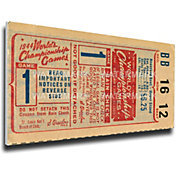That's My Ticket St. Louis Cardinals 1944 World Series Canvas Mega Ticket