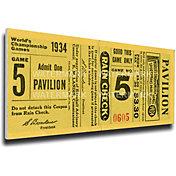 That's My Ticket St. Louis Cardinals 1934 World Series Canvas Mega Ticket
