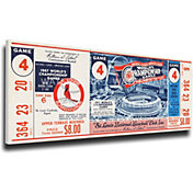 That's My Ticket St. Louis Cardinals 1967 World Series Canvas Mega Ticket