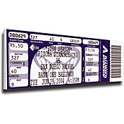 That's My Ticket Arizona Diamondbacks Randy Johnson 4000 Strikeouts Mega Ticket