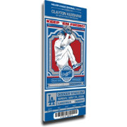 That's My Ticket Los Angeles Dodgers Clayton Kershaw Debut Game Mega Ticket