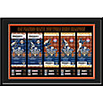 That's My Ticket San Francisco Giants 2010 World Series Framed Printed Ticket Collection