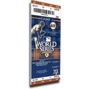 That's My Ticket San Francisco Giants 2010 World Series Canvas Mega Ticket