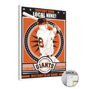 That's My Ticket San Franciso Giants Buster Posey Canvas Print