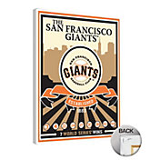 That's My Ticket San Francisco Giants Team Logo Canvas Print