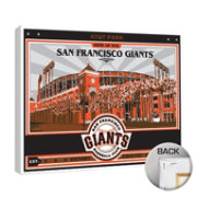 That's My Ticket San Francisco Giants AT&T Park Canvas Print